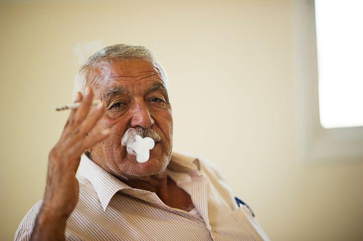 Khader, a Palestinian man in Yatma