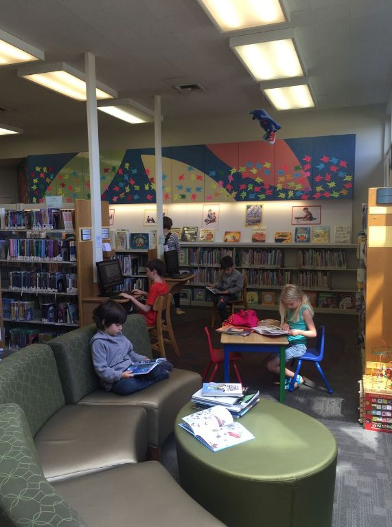 The local library is a GREAT resource. We'd visit multiple times a week for some fun reading material.