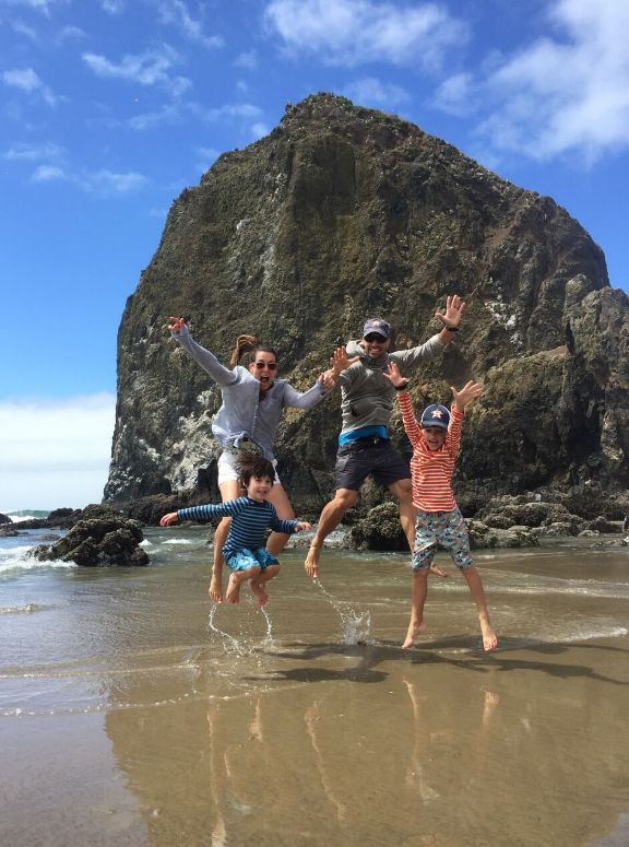 Beach days and bike riding were some of our vacation essentials and the kids loved it!