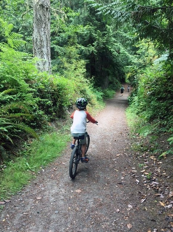 Renting bikes from town is a fun and easy way to explore your local surroundings.