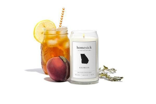 Sweet tea and Georgia peach scents will remind you of Georgia.
