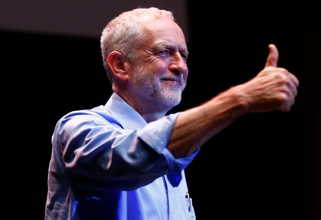Thumbs up: UK opposition leader Jeremy Corbyn has returned the Labour Party to its leftwing...