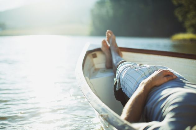 In a new study comparing a meditation retreat with just relaxing in the same locale, both options improved...