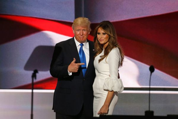 "&ldquo;I&rsquo;m going to be really good for women,&rdquo; <a href=""https://www.romper.com/p/donald-trumps-super-tuesday-spee"