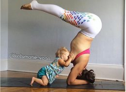 Mom Defends Right To Breastfeed In Public With Epic Yoga Photo