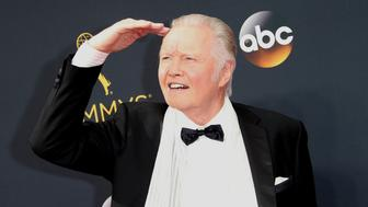 LOS ANGELES, CA - SEPTEMBER 18: Actor Jon Voight attends the 68th Annual Primetime Emmy Awards at Microsoft Theater on September 18, 2016 in Los Angeles, California. (Photo by Dan MacMedan/WireImage)