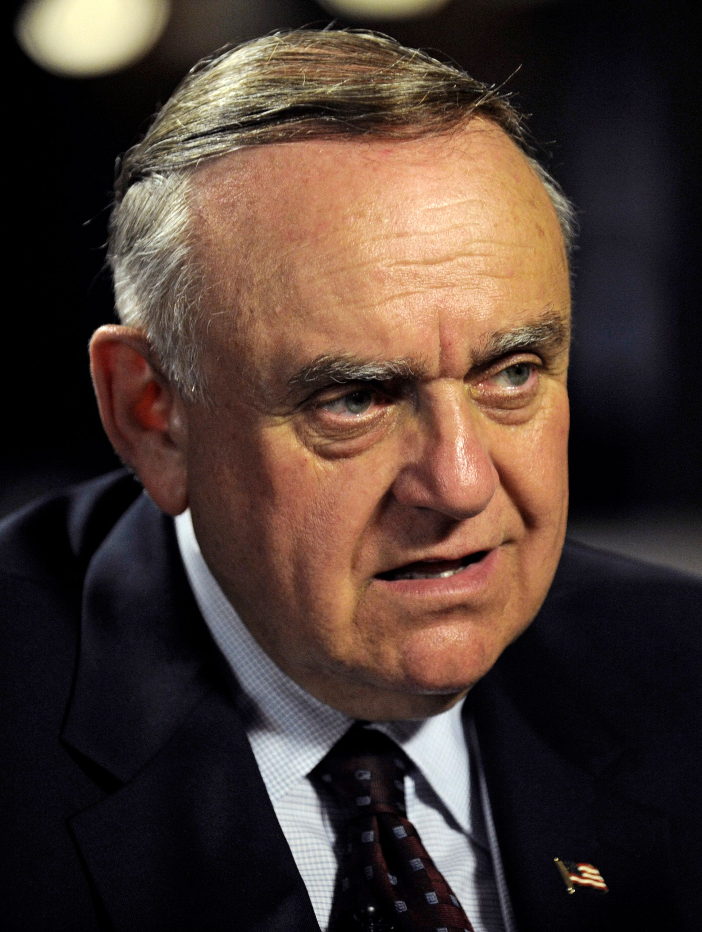 Leon Cooperman, chairman and chief executive officer of Omega Advisors Inc., speaks during an interview in New York, U.S., on Thursday, March 24, 2011. Cooperman said the U.S. economy can absorb oil prices of up to $130 a barrel and still grow more than 3 percent in 2011. Photographer: Louis Lanzano/Bloomberg via Getty Images