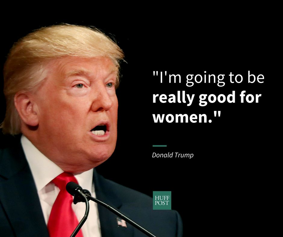 Donald Trump Racist Quotes 16 Real Things Trump Has Said About Women While Running For