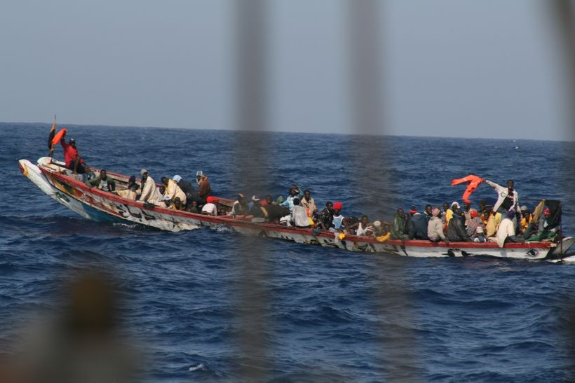 The refugees we encountered off the coast of Africa in 2007