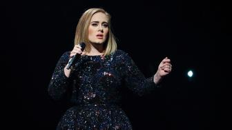 AUBURN HILLS, MI - SEPTEMBER 06:  Singer/songwriter Adele performs at The Palace of Auburn Hills on September 6, 2016 in Auburn Hills, Michigan.  (Photo by Scott Legato/Getty Images for BT PR)