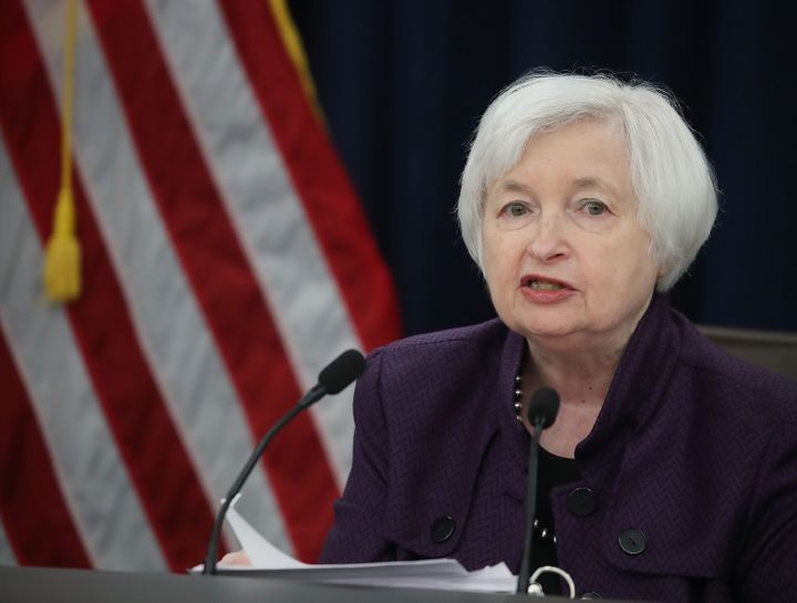 Federal Reserve chairwoman Janet Yellen spoke to reporters on Wednesday, Sep. 21, 2016, about the central bank's decision not