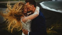 23 Windswept Wedding Photos That Will Blow You
