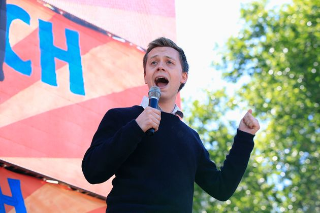 Owen Jones said Labour would have to rethink Corbyn if the polling did not