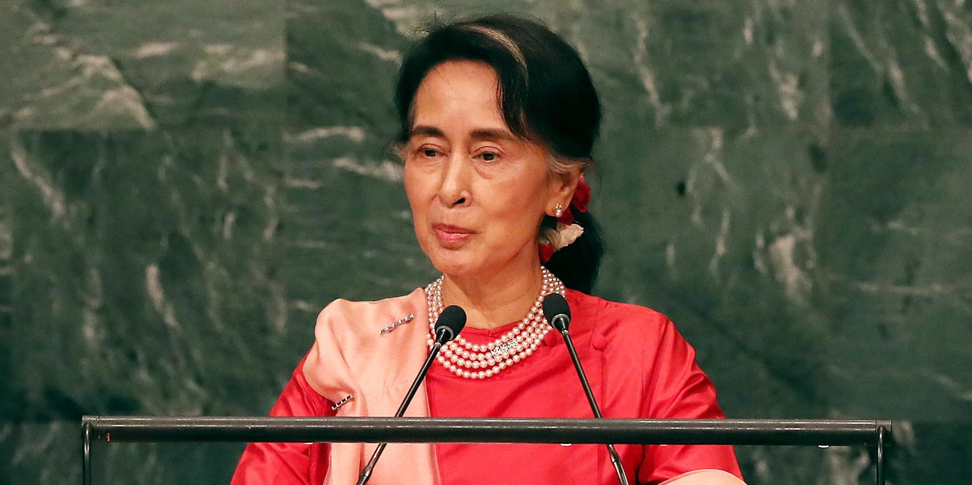 in first un address as leader aung san suu kyi defends efforts on in first un address as leader aung san suu kyi defends efforts on rohingyas the huffington post