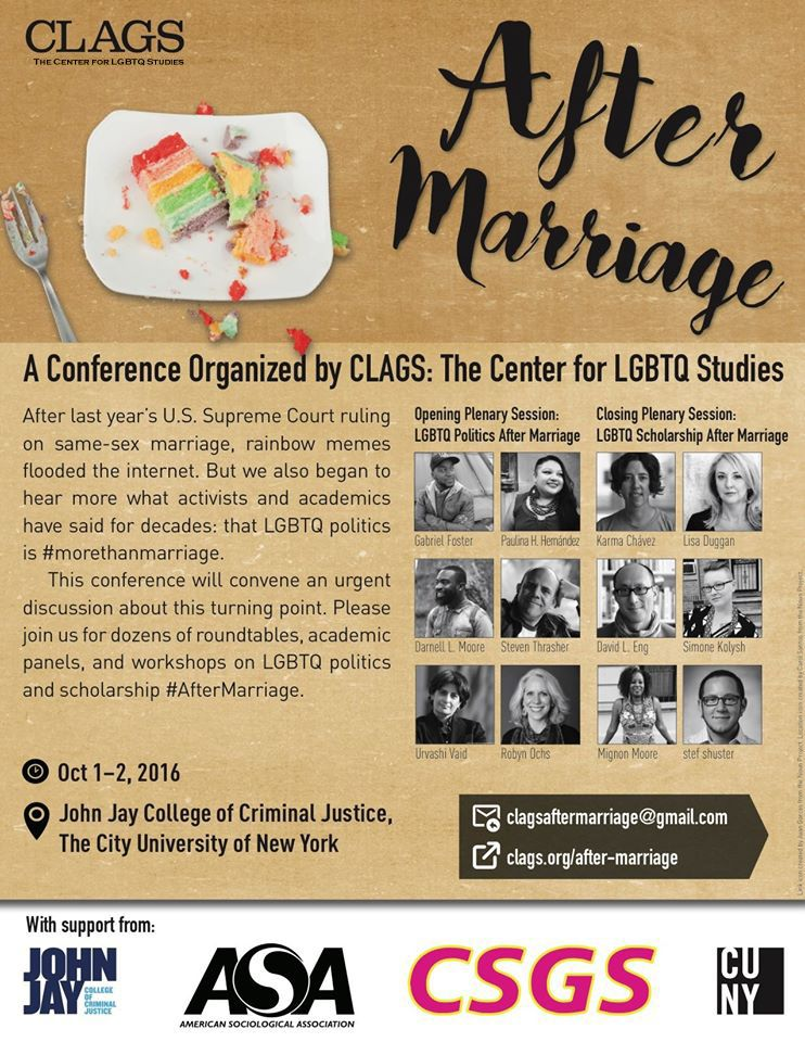 After Marriage Conference on October 1-2 in New York City
