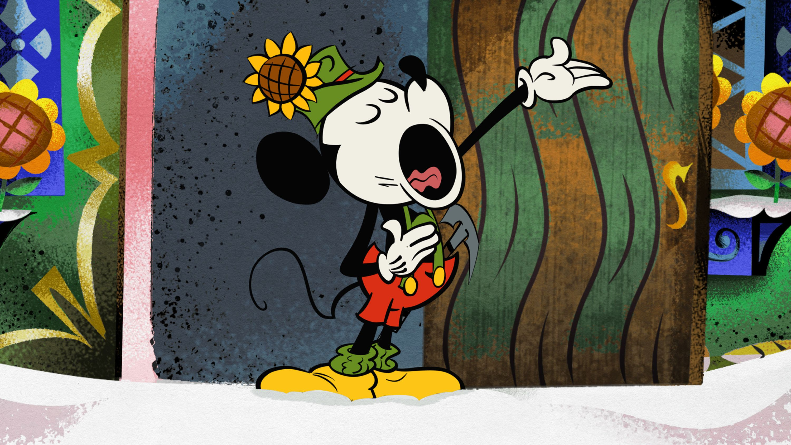 MICKEY MOUSE SHORTS - 'Yodelberg' - 'Mickey Mouse,' a new short-form series of 2D comedy cartoons featuring Disney's #1 star, will make its television debut with three new cartoon shorts the weekend of FRIDAY, JUNE 28-SUNDAY, JUNE 30 (8:30 p.m., ET/PT) on Disney Channel.  New shorts will continue to roll out with Friday premieres beginning Friday, July 5.  Episodes will be available on WATCH Disney Channel, Disney.com, the Mickey Video Player App and iTunes following their linear premiere. (Image by Disney Channel via Getty Images) MICKEY MOUSE