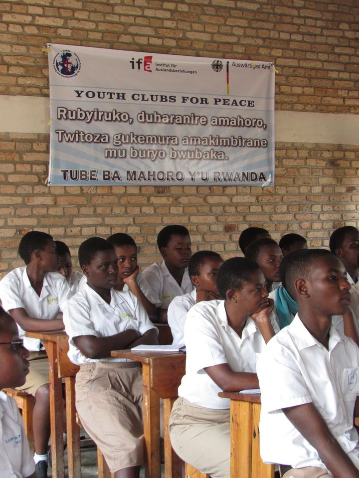 Youth Clubs for Peace by CARSA
