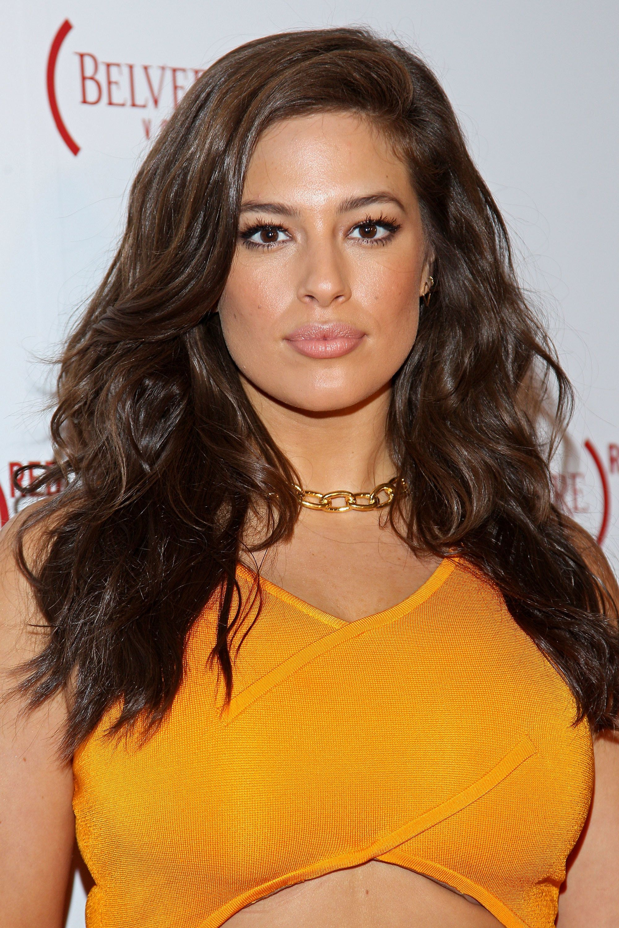 NEW YORK, NY - AUGUST 27:  Ashley Graham attends the introduction of John Legend as a (BELVEDERE) RED Brand Ambassador at The Apollo Theater on August 27, 2016 in New York City.  (Photo by Steve Mack/WireImage)