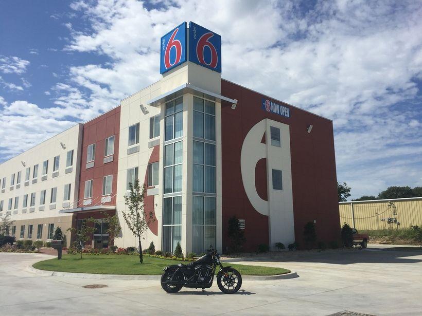 Motel 6 in Catoosa, OK. Taken on Garmin Virb Ultra 30.