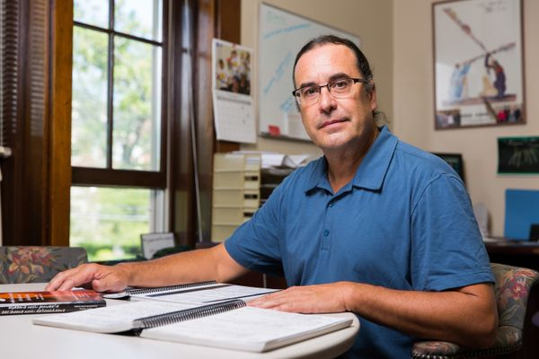 The 53-year-old director of theMyaamia Center in Oxford, Ohio, is being honored for his workreviving the linguist