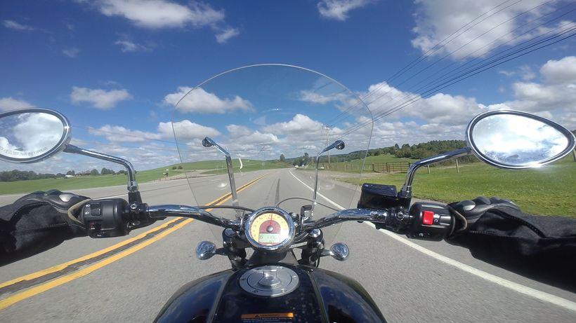 Ride snapshot in PA. Taken on Garmin Virb Ultra 30.