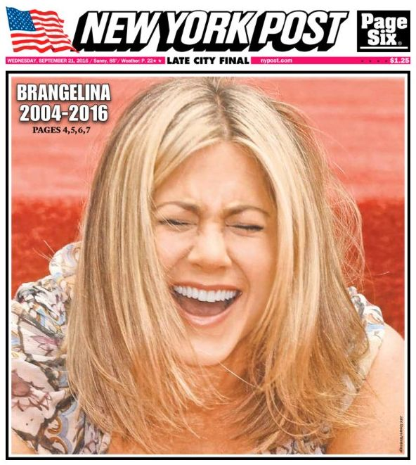 The Post's front cover sparked
