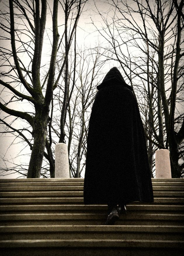 The Black Monk spectre was also known as Mr Nobody or 'Fred' (file