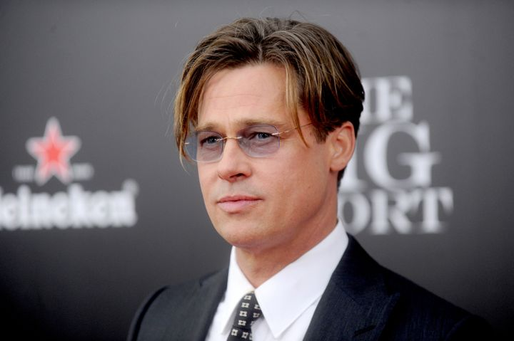 "Brad Pitt attends ""The Big Short"" premiere in 2015."