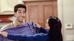 Ross Geller Had The Worst Style On 'Friends,' Hands