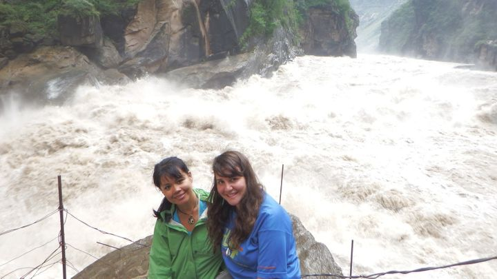 I met a fellow solo traveler along the Tiger Leaping Gorge trek in Yunnan Province, China.