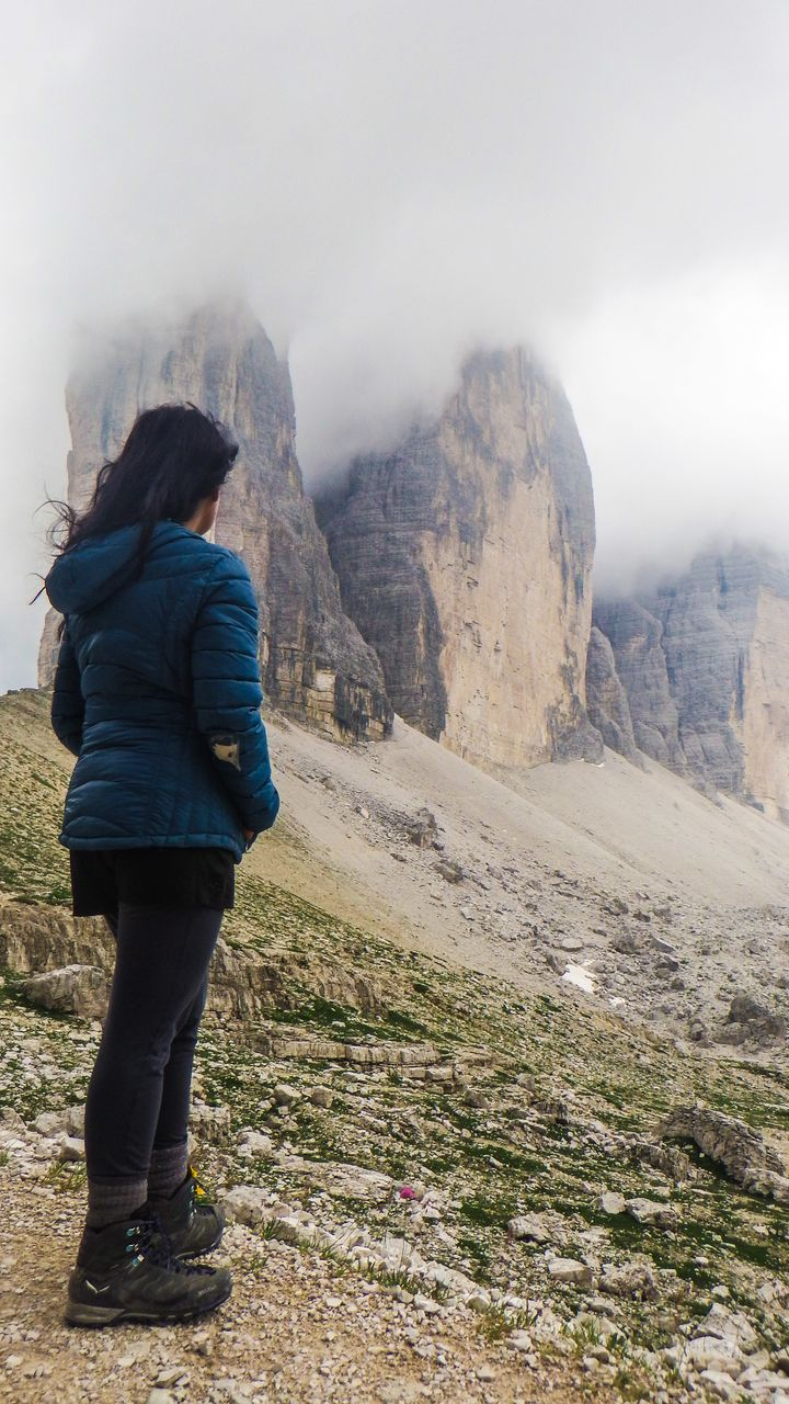 Two years later, I advanced to doing a multi-day trek solo of Alta Via 1 and 2 in Italy's Dolomites.