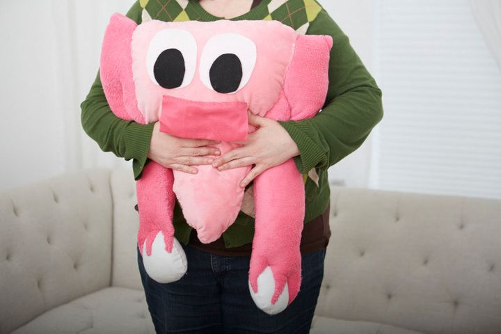 We need a huggable uterus body pillow.
