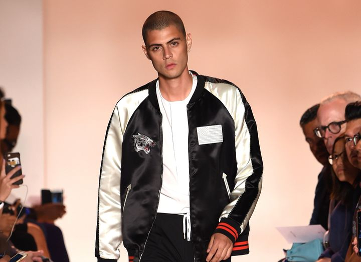 A Spring 2017 bomber jacket by Ovadia and Sons
