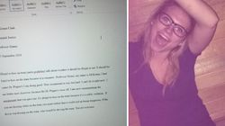 Student Gets Blind Drunk, Submits Disastrous Essay To