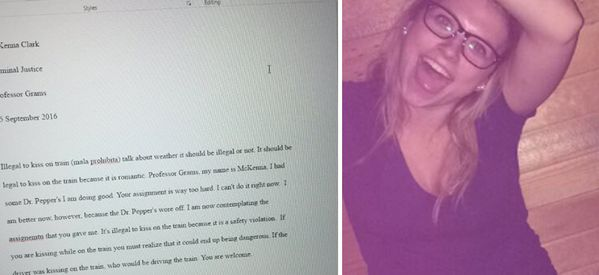 Student Gets Blindingly Drunk, Submits Disastrous Essay To Lecturer