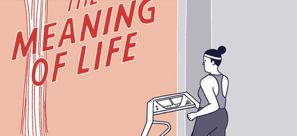 This Witty Comic Explores 'The Meaning Of Life'