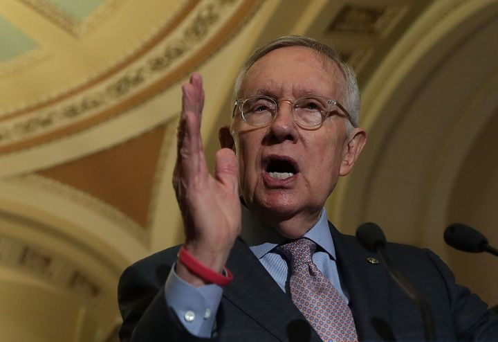 Senate Minority Leader Harry Reid (D-Nev.) is not pulling any punches when it comes to Donald Trump.