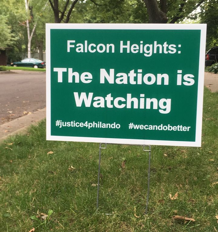 Lawn Sign in Falcon Heights, MN