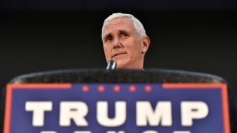 Republican U.S. vice presidential candidate Mike Pence speaks during a town hall at the Henderson Convention Center in Henderson, Nevada August 17, 2016. REUTERS/David Becker