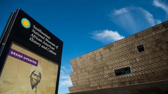 UNITED STATES - SEPTEMBER 14: The exterior of the Museum of African American History and Culture as seen during the media preview day on Sept. 14, 2014. The newest of the Smithsonian museums on the National Mall will open on Sept. 24, 2016. (Photo By Bill Clark/CQ Roll Call)