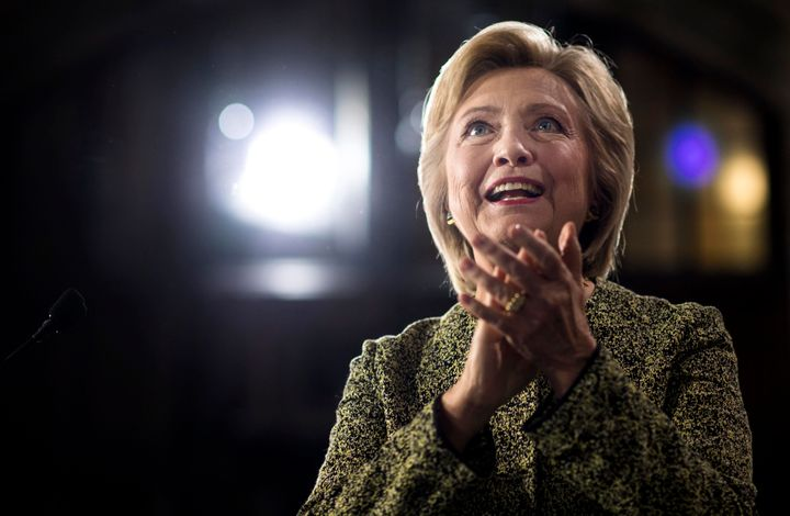 Hillary Clinton picked up an endorsement from the campaign finance reform group Every Voice.