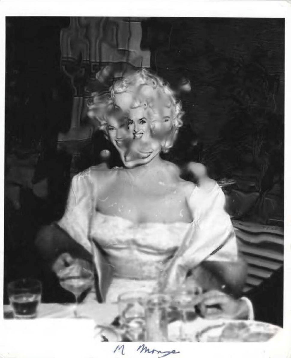 Marilyn Monroe by Weegee