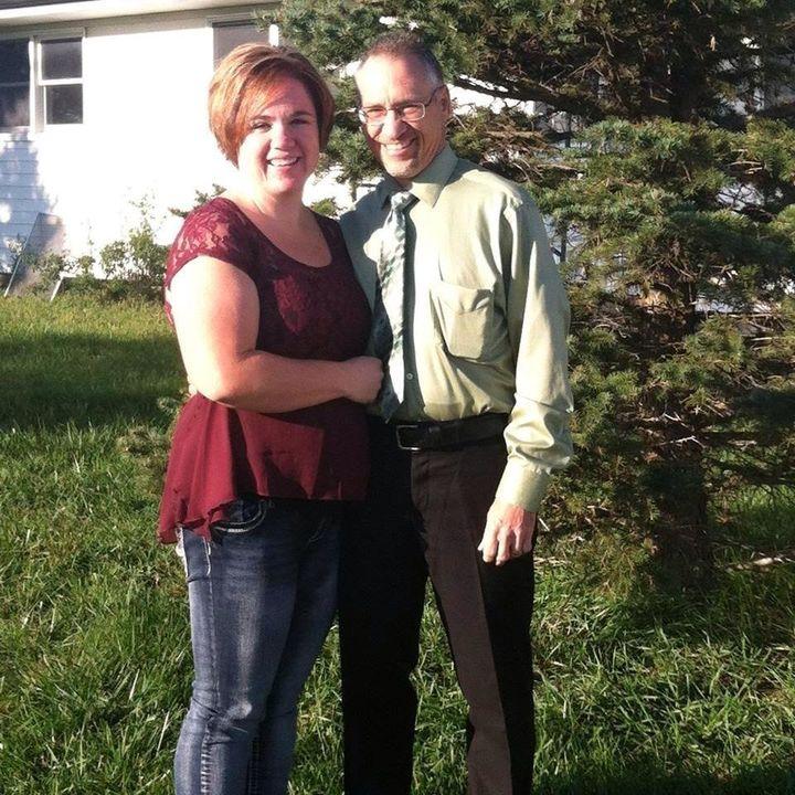 Megan and her husband Dwayne.
