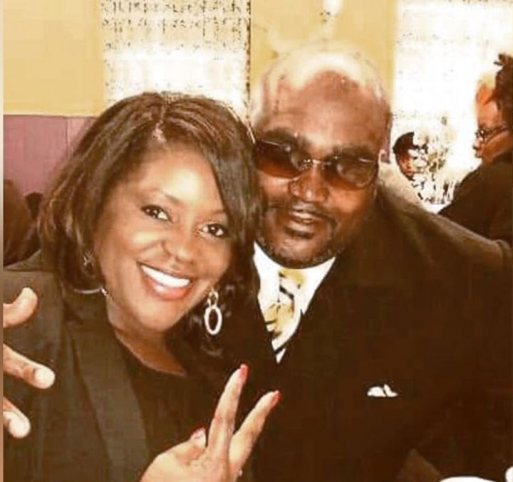 Terence Crutcher, right, with his sister Tiffany.