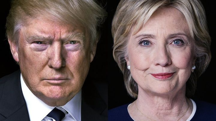 Republican Presidential Candidate Donald Trump and Democratic Presidential Candidate Hillary Clinton square off in the first