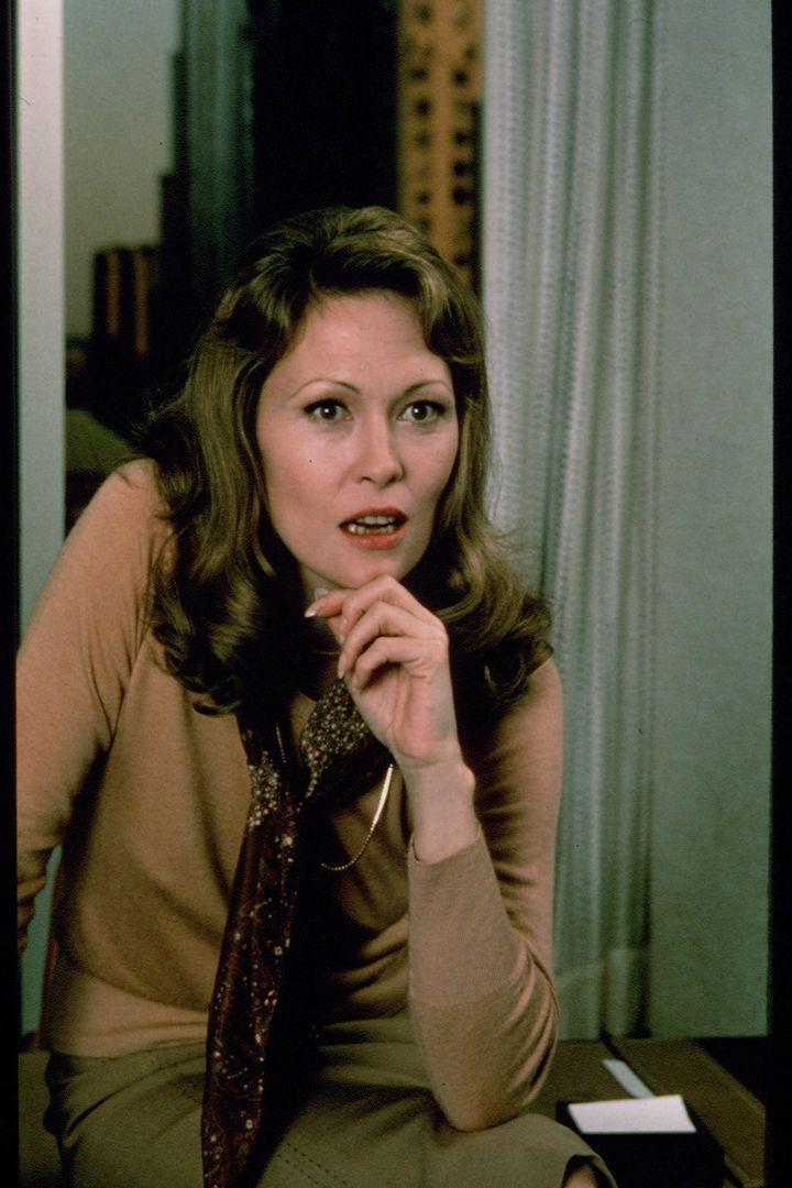 "Faye Dunaway as Diana Christensen in ""Network"""
