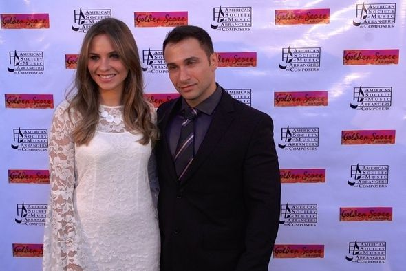 At the Red Carpet for 2015 Golden Score Awards by ASMC (American Society of Music Arrangers & Composers)