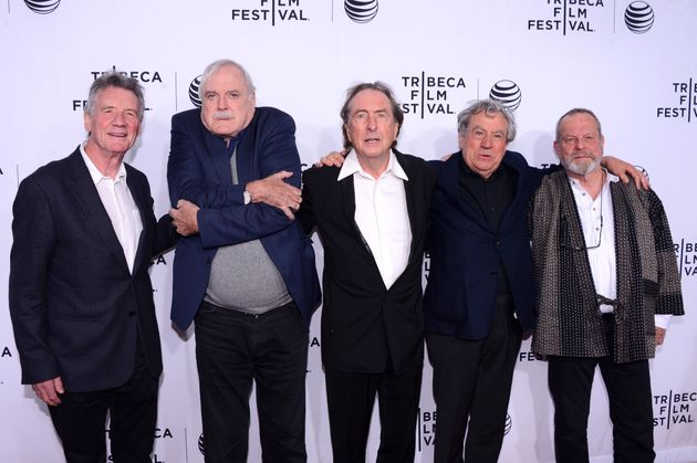 The Pythons - Michael Palin, John Cleese, Eric Idle, Terry Jones and Terry Gilliam - were reunited last...