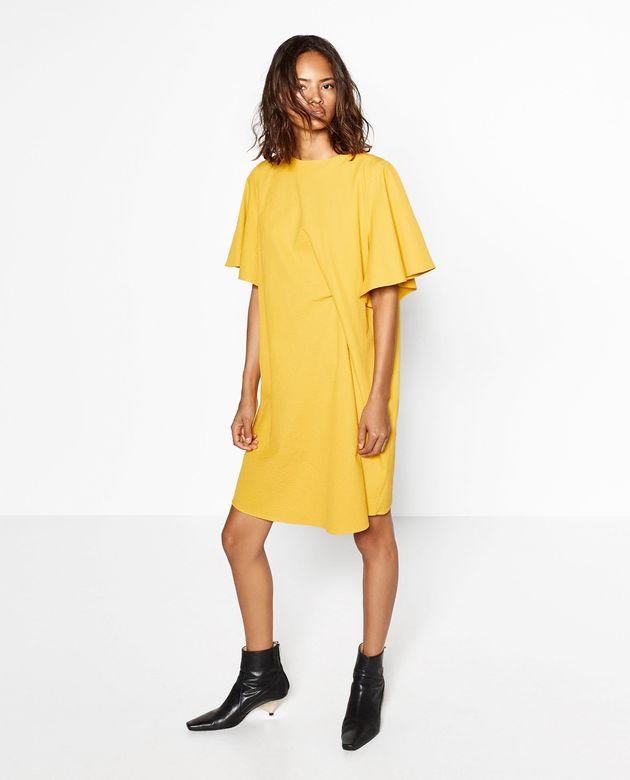Draped Dress,