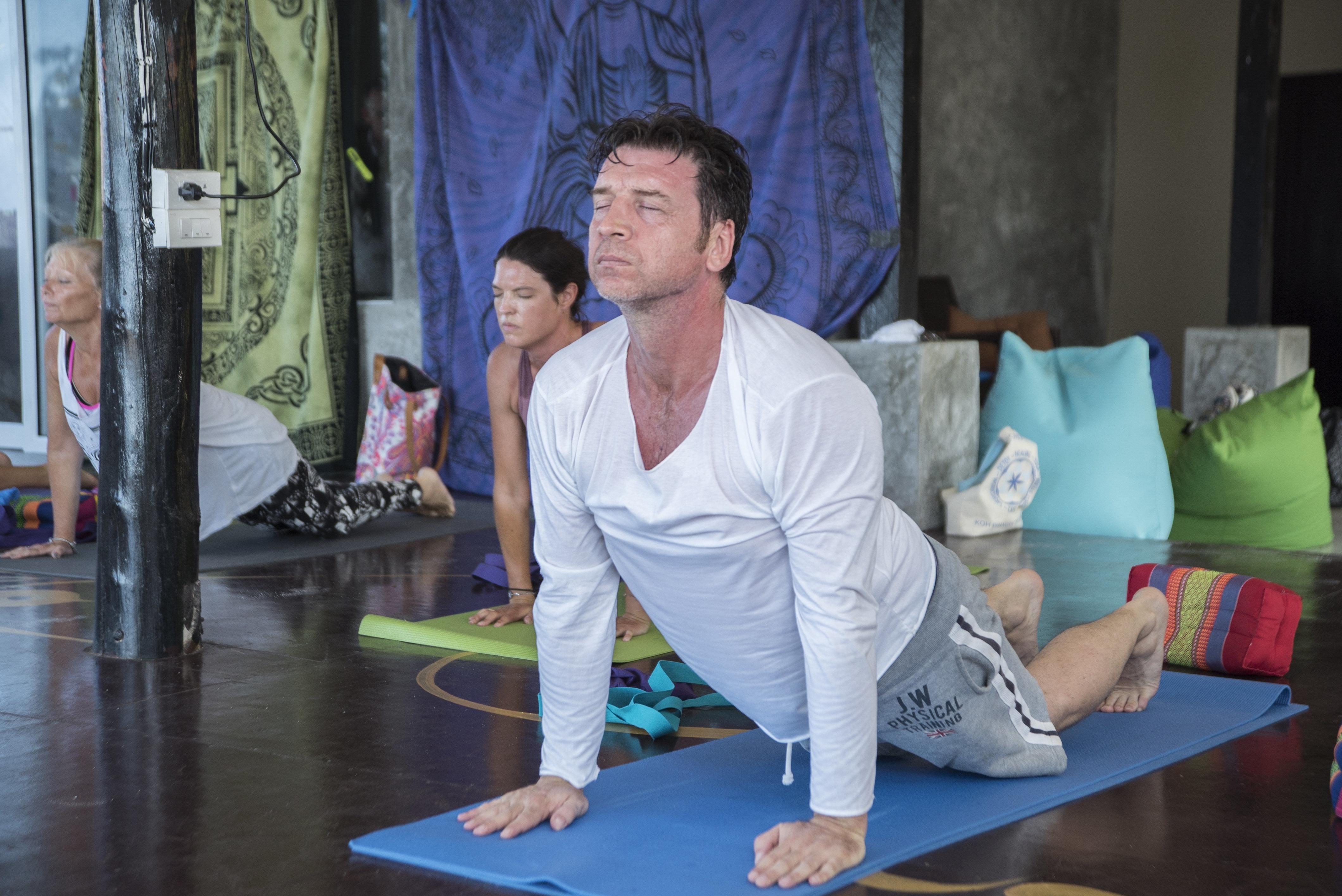 Nick Knowles Became A Yoga-Loving Vegan In 28